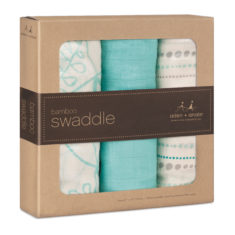 bamboo swaddle azure packaging