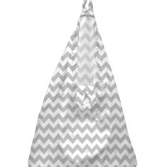 CB Hanging Bag Grey Chevron
