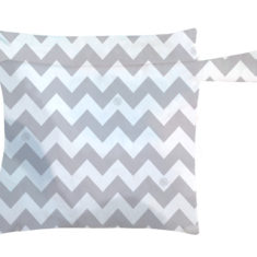 CB Wet Bag Grey Chevron
