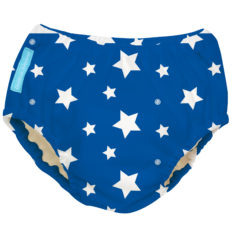 CB Swim Nappy White Stars on Blue