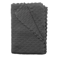 NBN Bud Cotton Blanket Charcoal